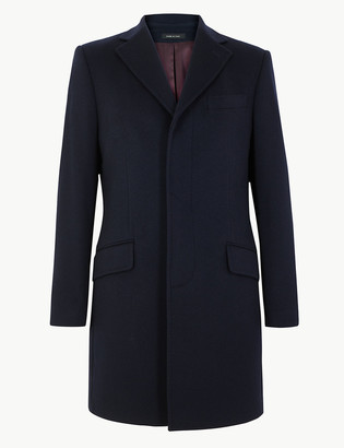 Marks and Spencer Cashmere Longline Overcoat