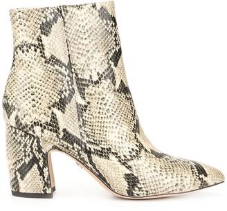 Sam Edelman Hilty snake-print boots