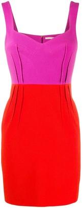 Emilia Wickstead Colour-Block Mini Dress