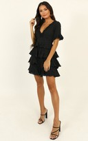 Showpo Big Move dress in black - 6 (XS) Going Out Outfits