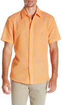 Trina Turk Slim Jim Short Sleeve Shirt