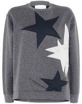Stella McCartney stars crew neck sweatshirt