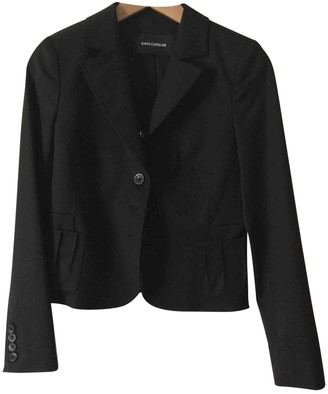 Flavio Castellani Black Wool Jacket for Women