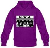 FNC7C NWA Long Sleeve Hoodies For Men's XL Modern Hoodies