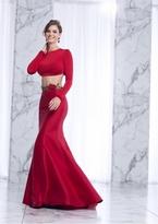 Tarik Ediz Two Piece Long Dress 50035