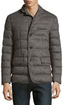Moncler Herringbone Quilted Jacket