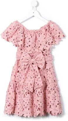 Little Bambah Pearl Off-Shoulder Dress
