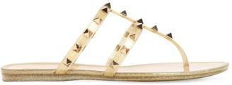 Valentino 10mm Summer Rockstud Pvc Sandals