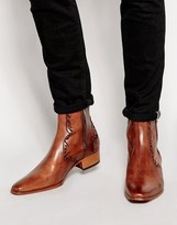 Jeffery West Western Zip Boots