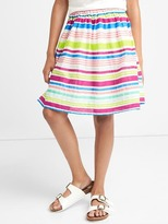 Gap Multi-stripe flippy skirt
