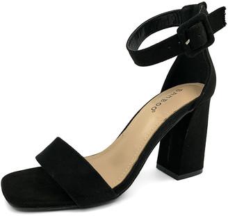 Bamboo Women's Sandals BLACK - Black Ankle-Strap Nicole Sandal - Women