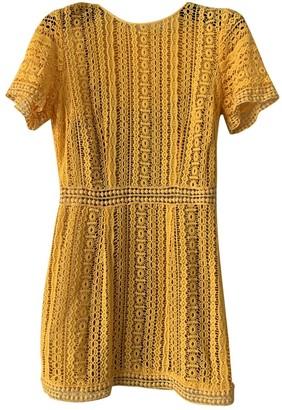 Michael Kors Yellow Dress for Women