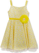 Rare Editions Floral Lace Dress, Little Girls