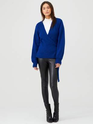 Very Knit Wrap Cardigan - Cobalt Blue