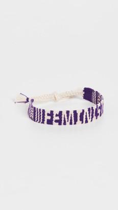 Maison Irem Mantra Bracelet