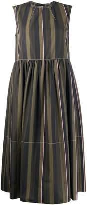 Marni striped empire line dress