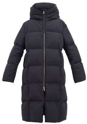 Jil Sander City Hooded Padded Coat - Womens - Navy