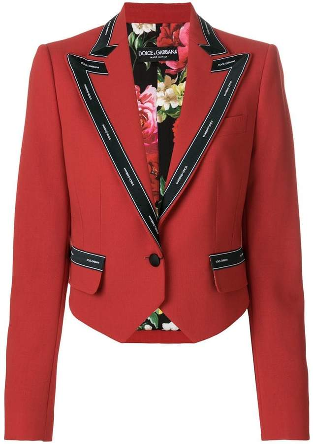 Dolce & Gabbana cropped military jacket