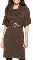 JCPenney Worthington® Cowl-Neck Sweater Dress