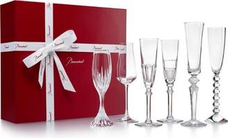 Baccarat Bubble Box Champagne Flutes (Set Of 6)