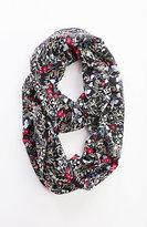 J. Jill Tossed Blooms Silk Infinity Scarf