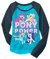My Little Pony Girls' Long Sleeve T-Shirt Turquoise