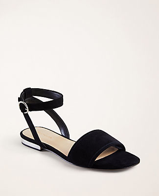 Ann Taylor Adley Suede Sandals
