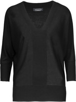 Magaschoni Silk and cashmere-blend sweater