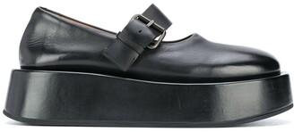 Marsèll Strapped Platform Oxford Shoes