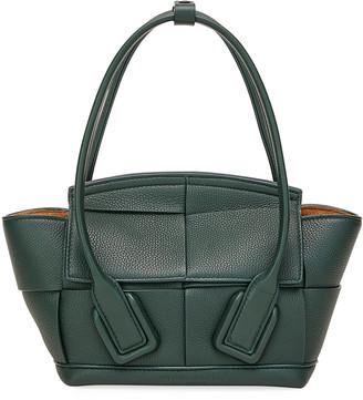Bottega Veneta Arco 33 Mini Grainy Leather Top-Handle Bag