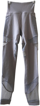 Lululemon Grey Spandex Trousers