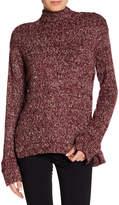 William Rast Charlie Mock Neck Sweatshirt