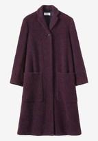 Toast Wool Tweed Long Coat