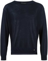 Versace crew neck jumper - men - Spandex/Elastane/Cupro/Viscose/Wool - 46