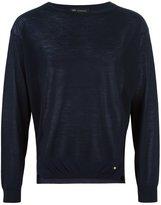 Versace crew neck jumper - men - Spandex/Elastane/Cupro/Viscose/Wool - 46