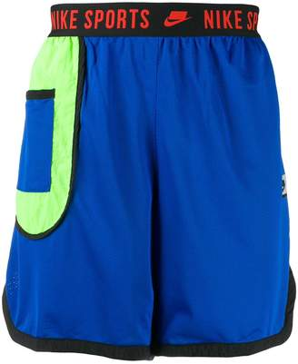 Nike logo waistband shorts