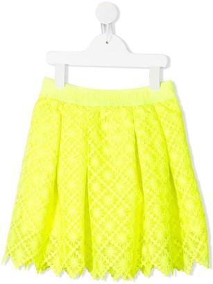 Alberta Ferretti Kids Pleated Midi Skirt