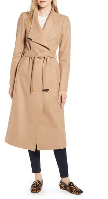 Ted Baker Gwynith Wool Blend Wrap Coat