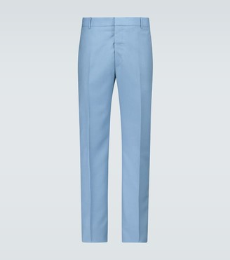 Alexander McQueen Cigarette cropped pants