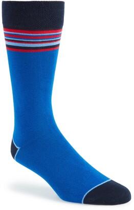 Ted Baker Contrast Stripe Socks