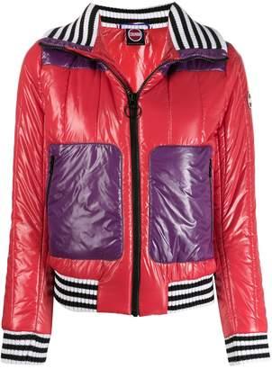 Colmar glossy-effect puffer jacket