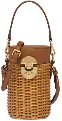 Miu Miu Wicker Mini Bag