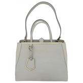 Fendi 2jours leather handbag