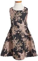 Iris & Ivy Toddler Girl's Jacquard Fit & Flare Dress