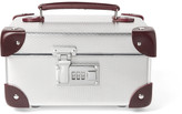 Globe-trotter - + Ekocycletm Leather-trimmed Aluminium Watch Case