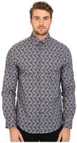 Ben Sherman Long Sleeve Multi Colour Paisley Woven Shirt MA11923