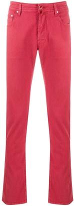 Jacob Cohen Slim Fit Coloured Jeans