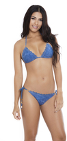 AlmaMia Swimwear 2017 AlmaMia Swimwear - Denim Triangle Bottom 301P