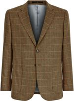 Jaeger Silk Check Classic Jacket
