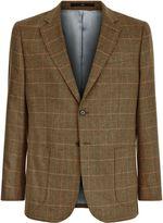 Jaeger Silk Check Classic Jacket